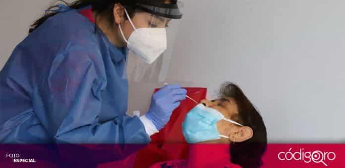 El municipio de Querétaro realiza pruebas PCR en plazas comerciales y mercados públicos. Foto: Especial