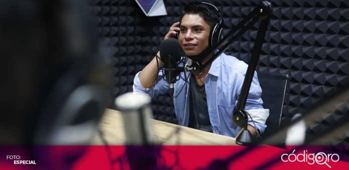 Jóvenes raperos del municipio de Querétaro grabaron sus canciones en las instalaciones de Nuqleo. Foto: Especial