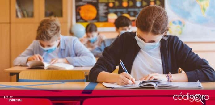 Los estudiantes regresaron a las escuelas en Inglaterra, ante la disminución de contagios en Reino Unido. Foto: Especial