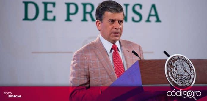 El titular de Profeco, Ricardo Sheffield Padilla, renunció para contender por la alcaldía de León, Guanajuato. Foto: Especial