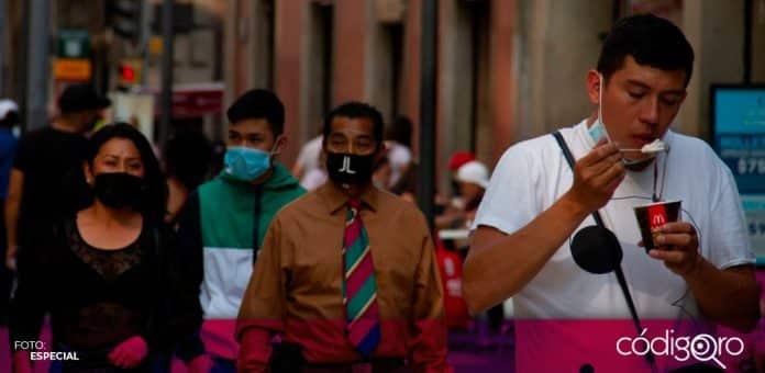 AMLO llama a mantener medidas sanitarias para evitar una tercera ola de contagios
