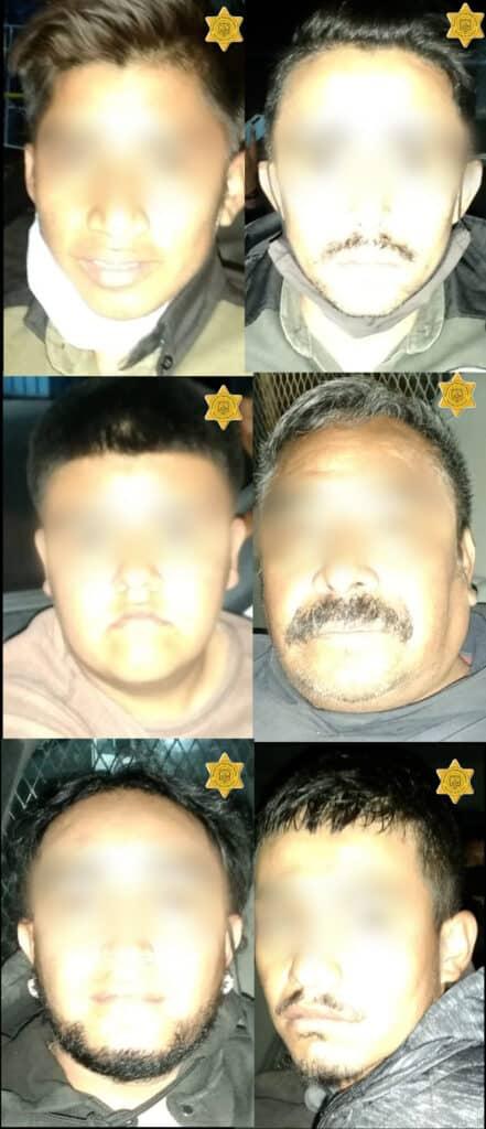 Detienen a 12 personas en un inmueble de Santa Rosa Jáuregui