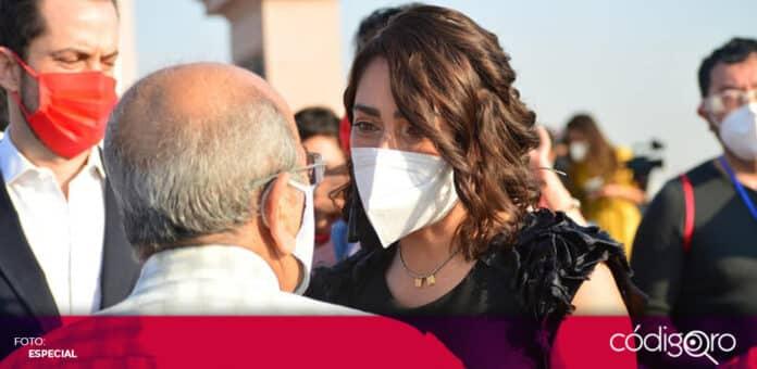 La candidata del PRI a la gubernatura de Querétaro, Abigail Arredondo Ramos, presentó su Plan de Gobierno. Foto: Especial
