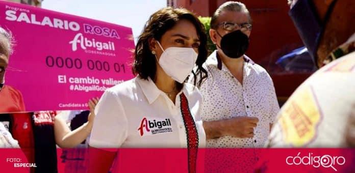 La candidata del PRI a la gubernatura de Querétaro, Abigail Arredondo, propuso incentivos fiscales para las empresas. Foto: Especial