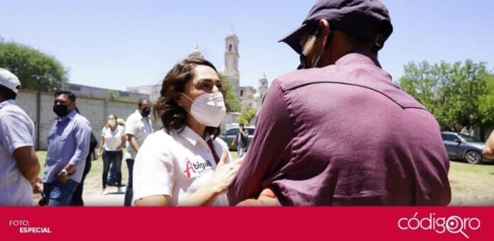 Abigail Arredondo Ramos, candidata del PRI a la gubernatura de Querétaro, planteó aumentar el presupuesto para cultura y deporte. Foto: Especial