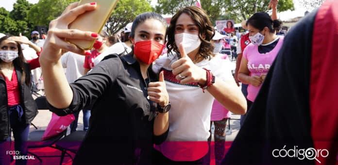 La candidata del PRI a la gubernatura de Querétaro, Abigail Arredondo, presentó su propuesta de