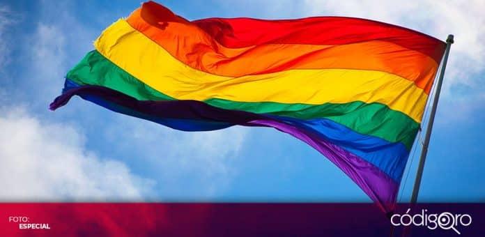 Activistas exigen que el Congreso del Estado de Querétaro legisle en materia de matrimonios igualitarios. Foto: Especial