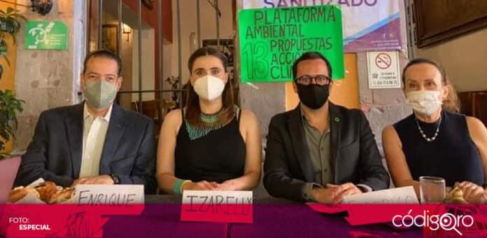 Ambientalistas pidieron que los candidatos tomen en cuenta la sobreexplotación de los acuíferos en el estado de Querétaro. Foto: Especial