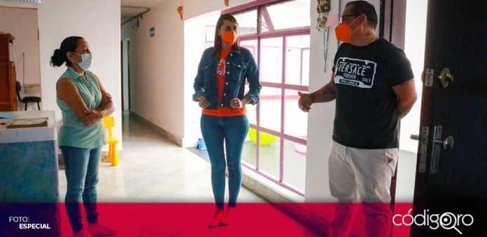 La candidata de MC a la gubernatura de Querétaro, Beatriz León, se reunió con miembros de organizaciones de la sociedad civil. Foto: Especial