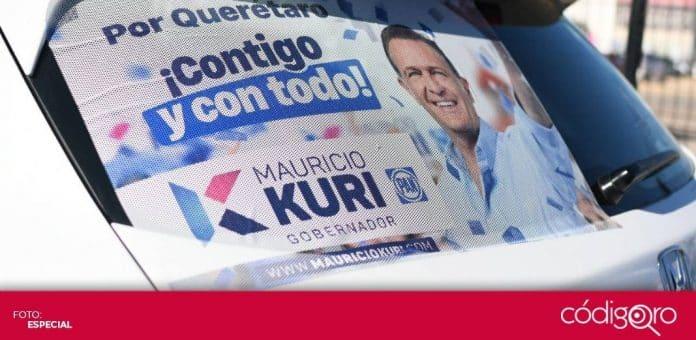 Militantes y simpatizantes del PAN comenzaron campaña a favor de Mauricio Kuri. Foto: Especial