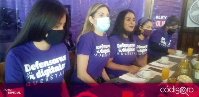 Activistas pidieron a todos los candidatos pronunciarse contra la violencia digital. Foto: Especial