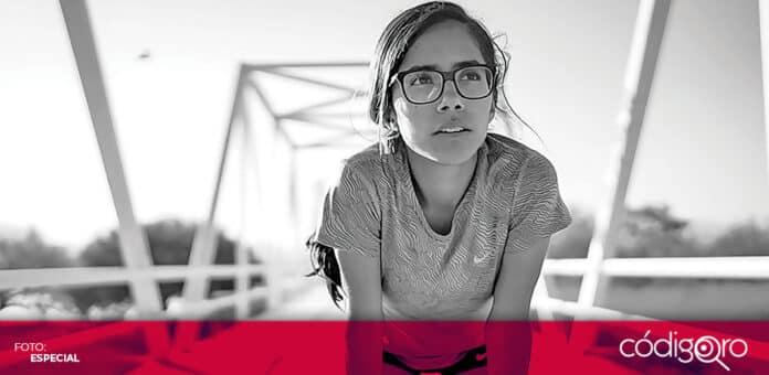 La atleta queretana Daniela Torres dio la marca mínima para participar en los Juegos Olímpicos. Foto: Especial