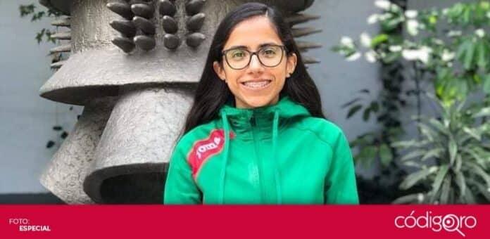La maratonista queretana Daniela Torres logró la marca olímpica para Tokio 2020. Foto: Especial
