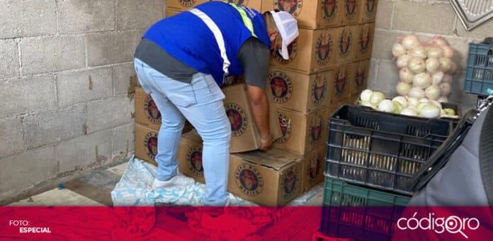 En la colonia Carrillo Puerto, fueron decomisadas casi 7 mil unidades de cerveza. Foto: Especial