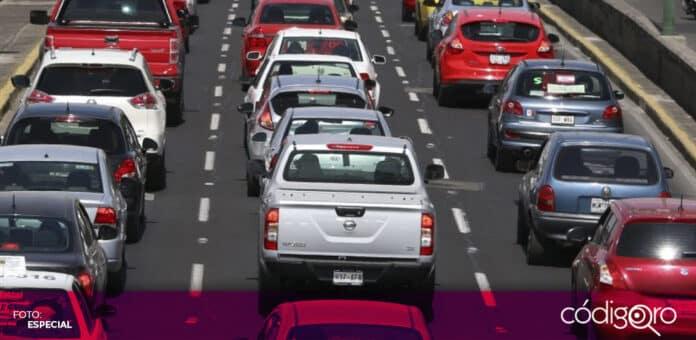 Por altas concentraciones de ozono, activan Doble Hoy No Circula en la Ciudad de México. Foto: Especial