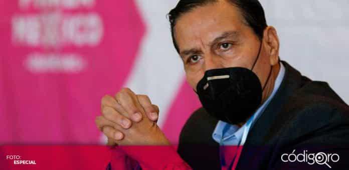 José Luis Aguilera Ortiz, dirigente estatal de Fuerza por México en Querétaro, impugnará la resolución del TEEQ. Foto: Especial