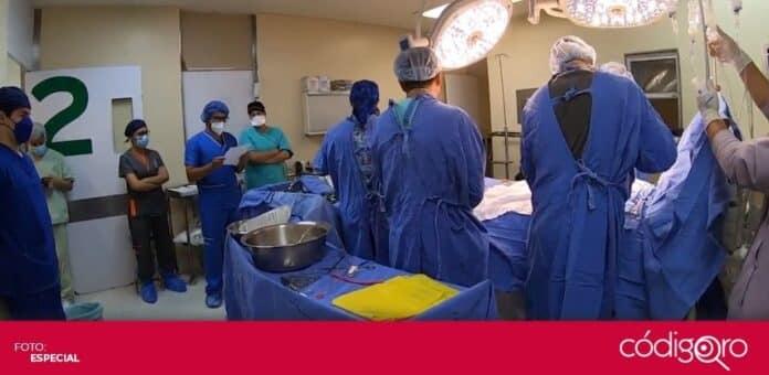 El IMSS en Querétaro realizó la procuración de riñones, hígado, córneas y corazón de un paciente con muerte encefálica. Foto: Especial