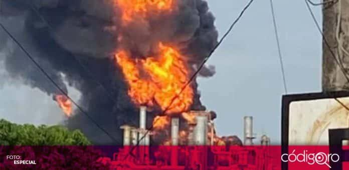 Se registró un incendio en la refinería de Pemex