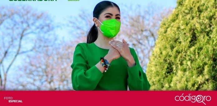 Katia Reséndiz Jaime es la candidata del Partido Verde Ecologista de México a la gubernatura del estado de Querétaro. Foto: Especial