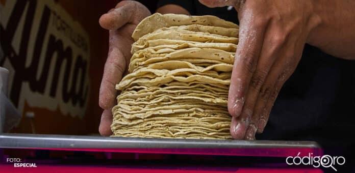 En la ciudad de Hermosillo, capital de Sonora, el kilo de tortilla se vende hasta en 27 pesos. Foto: Especial