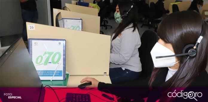 A través del teléfono 070, el municipio de Querétaro proporciona Primeros Auxilios Psicológicos. Foto: Especial