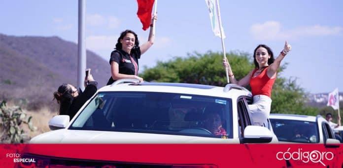 María Alemán se registró como candidata del PRI a la presidencia municipal de Querétaro. Foto: Especial