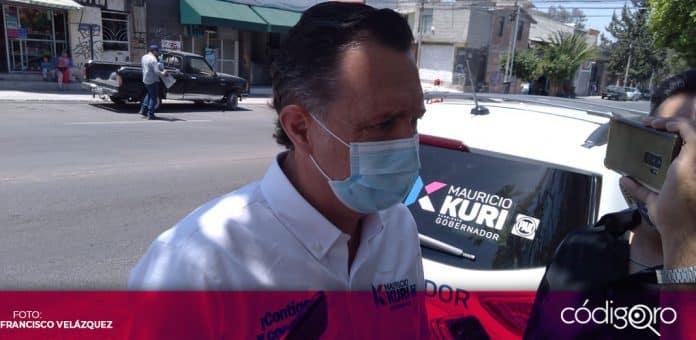Mauricio Kuri González, candidato del PAN a la gubernatura de Querétaro, afirmó que no se unirá a la Alianza Federalista. Foto: Especial