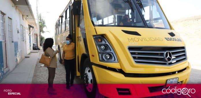 La Secretaría de Movilidad del Municipio de Querétaro ofrecerá transporte para vacunación contra COVID-19. Foto: Especial