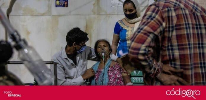 El drama por la pandemia de COVID-19 se desborda en la India. Foto; Especial