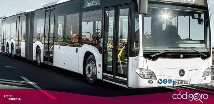El Observatorio Ciudadano de Movilidad se pronunció por un sistema de transporte público BRT. Foto: Especial