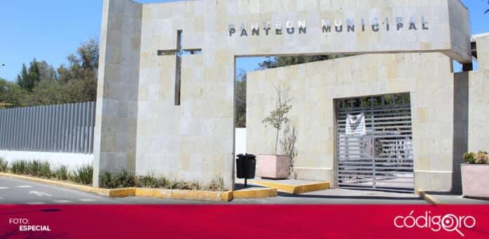 Los panteones municipales de Querétaro reabrirán sus puertas el 3 de mayo próximo. Foto: Especial