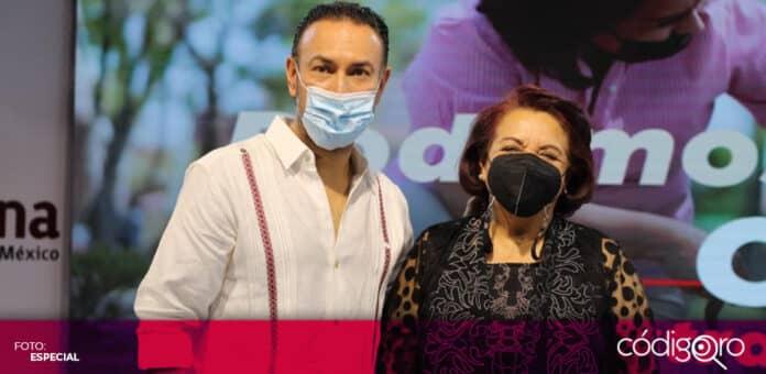 Los candidatos de Morena a la gubernatura y la presidencia municipal de Querétaro plantearon la creación de un plan metropolitano. Foto: Especial