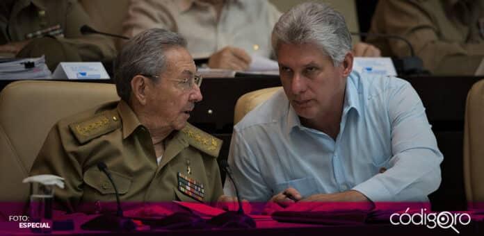 El presidente de Cuba, Miguel Díaz-Canel, fue elegido como primer secretario general del Partido Comunista de Cuba. Foto: Especial