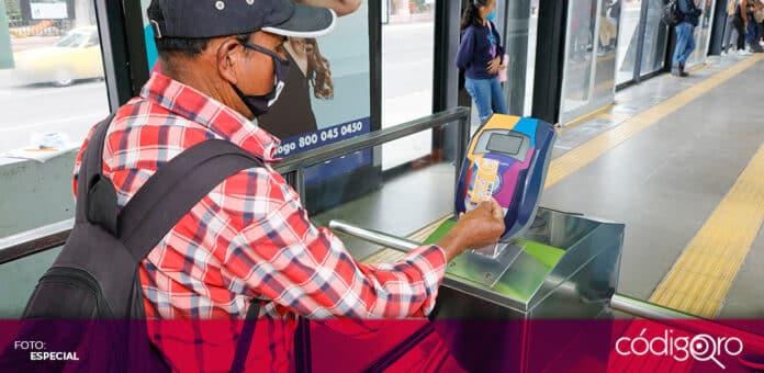 Qrobús habilitó una aplicación digital para facilitar el pago con el celular. Foto: Especial