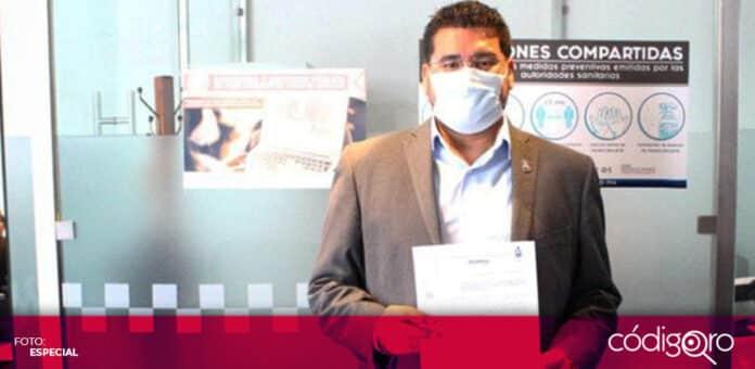 El diputado local de Morena, Néstor Domínguez Luna, propuso reformar la Ley de Derechos Humanos del Estado de Querétaro. Foto: Especial