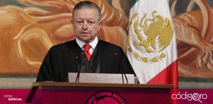 El Senado de la República aprobó extender el periodo del presidente de la SCJN, Arturo Zaldívar Lelo de Larrea. Foto: Especial