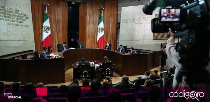 El TEPJF aplazó la sesión para resolver los casos de Félix Salgado Macedonio y Raúl Morón. Foto: Especial