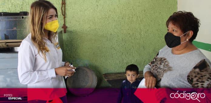 La candidata del PRD a la presidencia municipal de Querétaro, Vanesa Garfias, propuso la creación de la