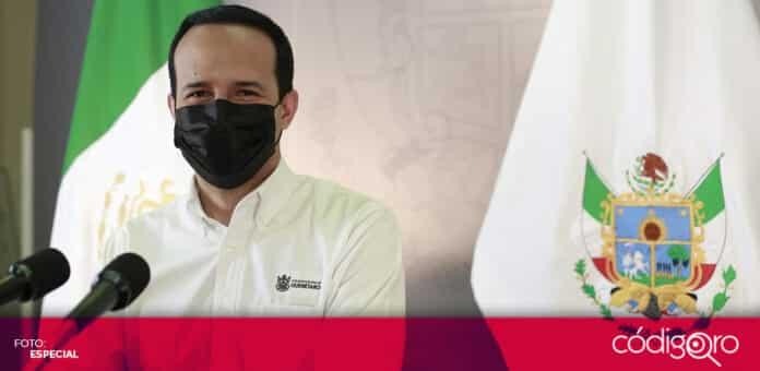 El vocero organizacional del Gobierno del Estado de Querétaro, Rafael López González, reportó una disminución de COVID-19 durante abril. Foto: Especial