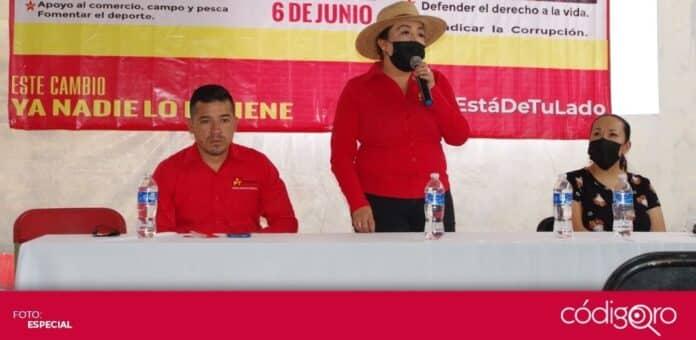 La candidata de Morena-PT a la presidencia municipal de Cuitzeo, Michoacán, fue agredida con disparos de arma de fuego. Foto: Especial