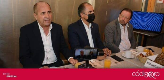 Los líderes de CMIC, Canacintra y Canirac presentaron la plataforma