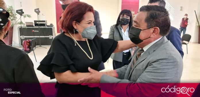 La candidata de Morena a la gubernatura de Querétaro, Celia Maya, anunció que solicitará la intervención de la Guardia Nacional en la jornada electoral. Foto: Especial