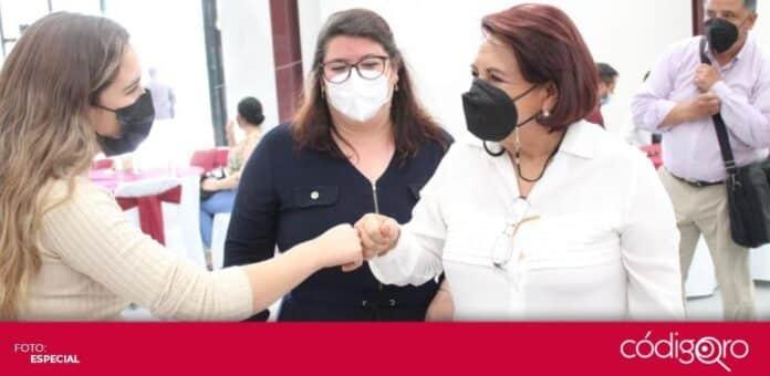 El TEEQ multó a la candidata de Morena a la gubernatura del estado de Querétaro, Celia Maya García, por actos anticipados de campaña. Foto. Especial