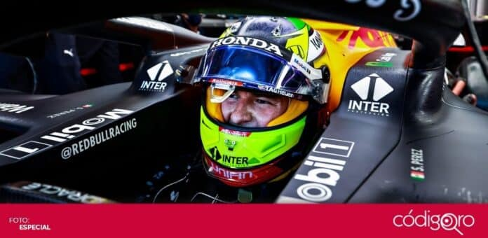 El piloto mexicano de Red Bull, Sergio