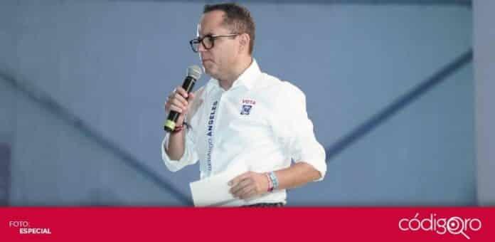 El candidato del PAN a la diputación por el Distrito Local 5, Gerardo Ángeles Herrera, realizó su cierre de campaña. Foto: Especial