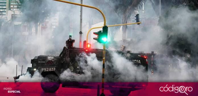 El Gobierno de Colombia hizo un llamado al diálogo tras las violentas protestas en el país sudamericano. Foto: Especial