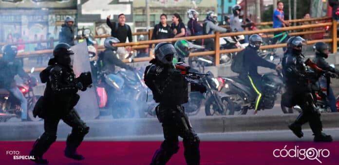 Las protestas contra la reforma fiscal en Colombia dejaron por lo menos 17 muertos. Foto: Especial
