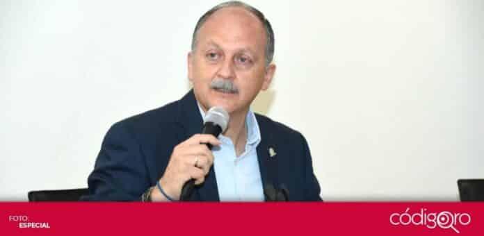 El dirigente estatal de la Coparmex en Querétaro, Jorge Camacho Ortega, reafirmó la importancia de los gobiernos abiertos. Foto: Especial