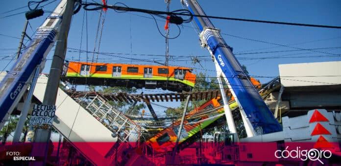 Una empresa noruega se encargará del peritaje del colapso de la Línea 12 del Metro de la Ciudad de México. Foto: Especial