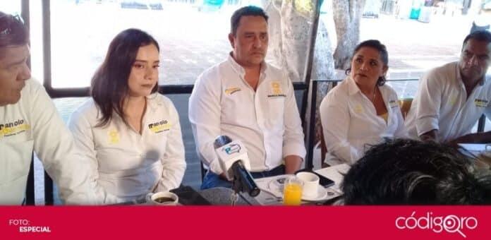 El candidato del PRD a la presidencia municipal de El Marqués denunció a